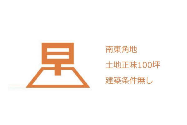 土地 埼玉県日高市大字下鹿山 JR八高線(八王子〜高麗川)高麗川駅 780万円