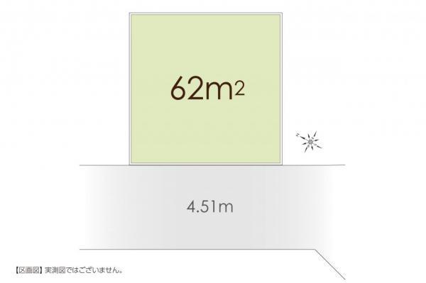 土地 埼玉県入間郡三芳町大字藤久保 東武東上線鶴瀬駅 680万円