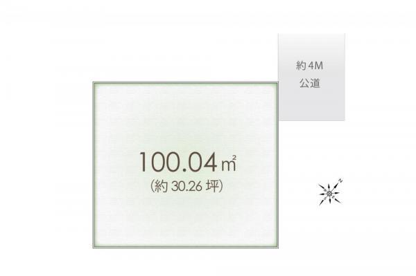 土地 埼玉県富士見市鶴馬3丁目 東武東上線みずほ台駅 1400万円