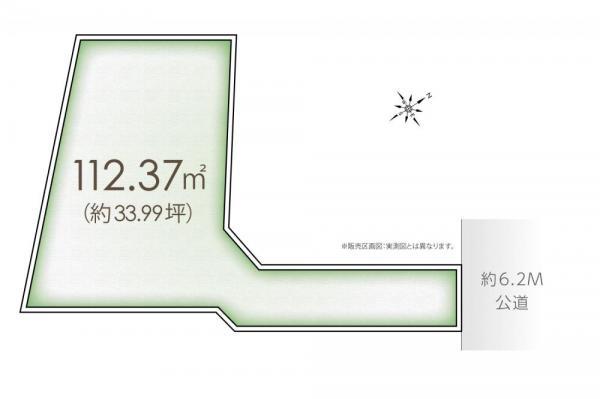 土地 埼玉県川越市大字今福 西武新宿線南大塚駅 850万円