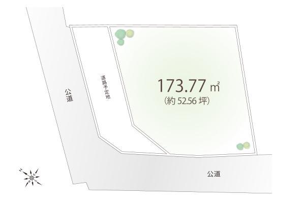 土地 埼玉県狭山市大字南入曽 西武新宿線入曽駅 2470万円