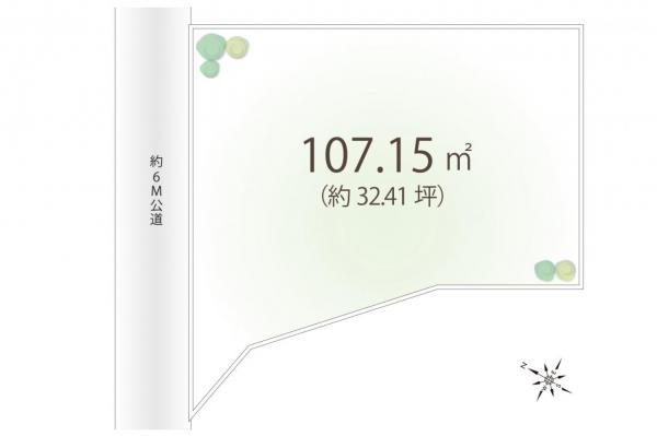土地 狭山市広瀬3丁目 西武新宿線狭山市駅 1080万円