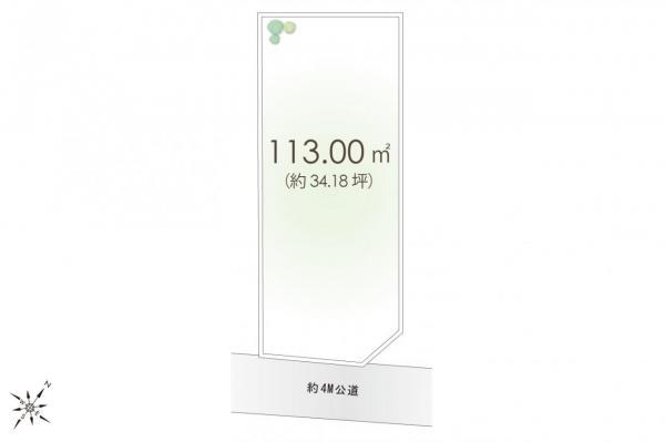 土地 板橋区赤塚5丁目 東武東上線成増駅 4100万円