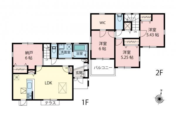 中古戸建 所沢市花園4丁目 西武新宿線新所沢駅 3650万円