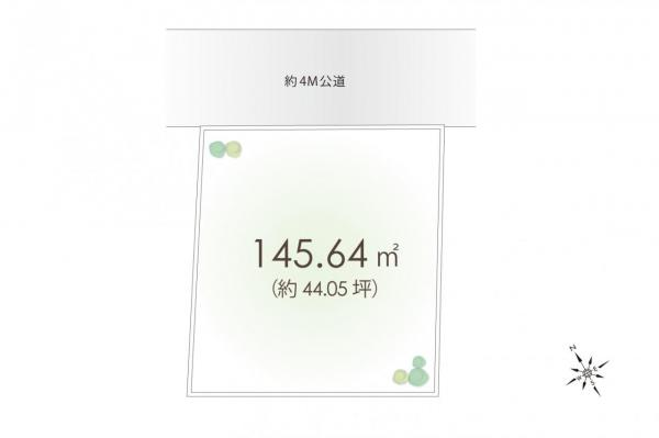 土地 立川市羽衣町3丁目 JR南武線西国立駅 3500万円
