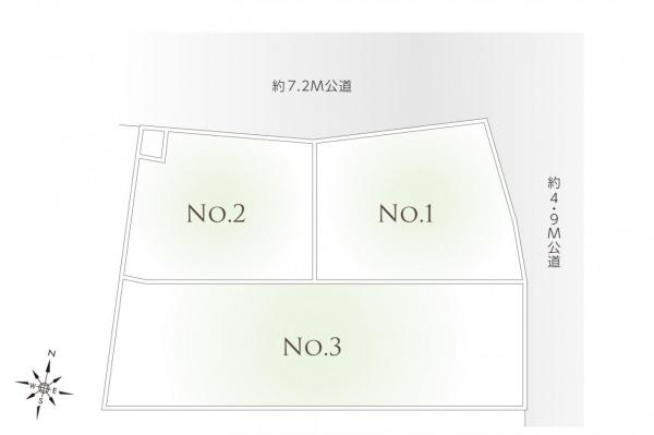土地 和光市白子2丁目 副都心線地下鉄成増駅 2600万円~4350万円