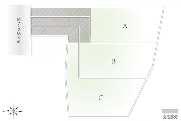 土地 和光市白子2丁目 副都心線地下鉄成増駅 3200万円~3500万円