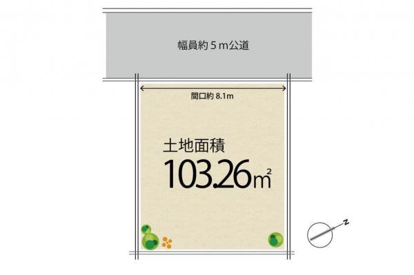 土地 小金井市前原町1丁目 JR中央線武蔵小金井駅 2880万円