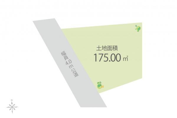 土地 日高市大字高萩 JR川越線武蔵高萩駅 1000万円