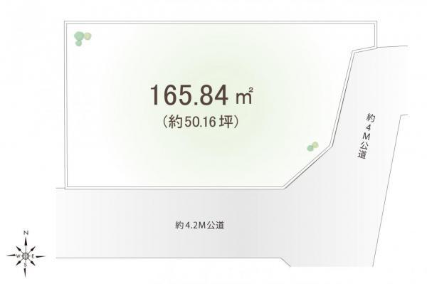 土地 川越市大字的場 JR川越線的場駅 2480万円