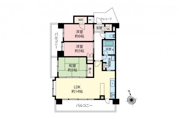 中古マンション 新座市野火止5丁目 JR武蔵野線新座駅 3680万円