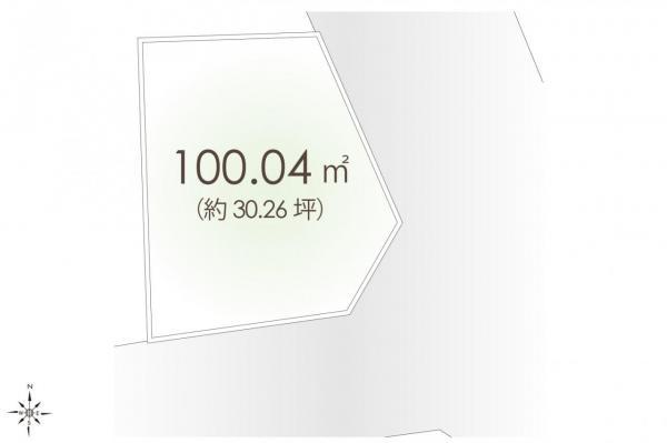土地 新座市畑中1丁目 JR武蔵野線新座駅 1850万円