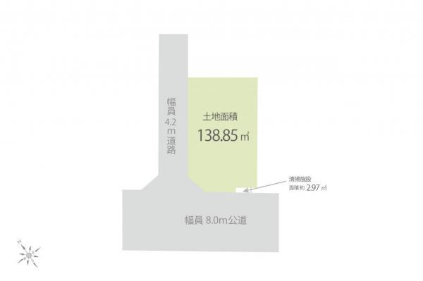 土地 入間市大字下藤沢 西武池袋線武蔵藤沢駅 3230万円
