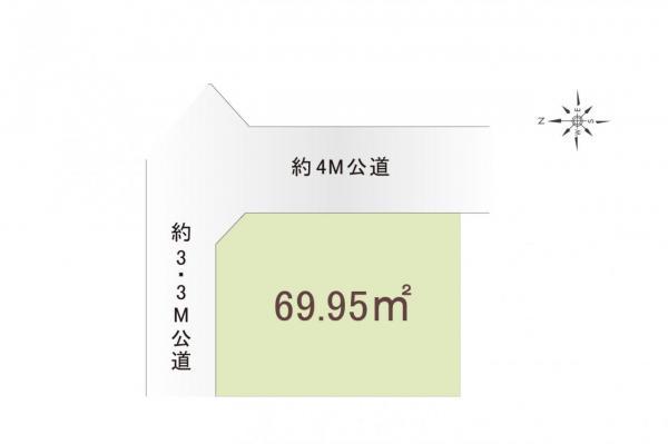 土地 所沢市大字松郷 西武池袋線秋津駅 1150万円