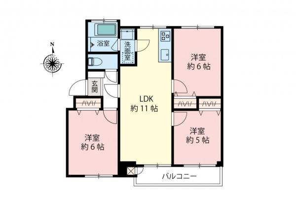 中古マンション 三鷹市下連雀6丁目 JR中央線三鷹駅 2480万円