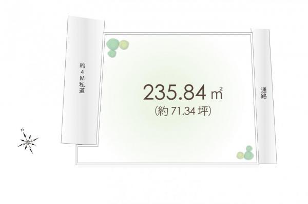 土地 国分寺市日吉町1丁目 JR中央線西国分寺駅 7880万円