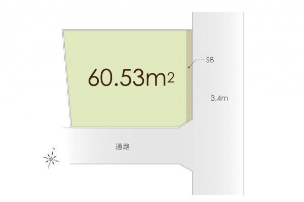 土地 杉並区本天沼1丁目 JR中央線阿佐ヶ谷駅 3480万円
