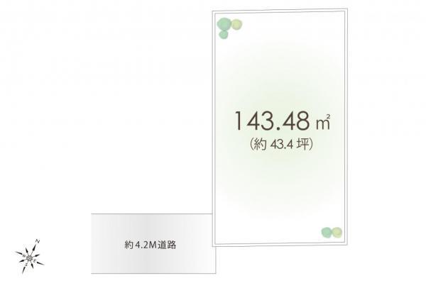 土地 入間市大字仏子 西武池袋線元加治駅 980万円