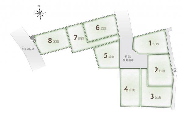 土地 富士見市羽沢2丁目 東武東上線鶴瀬駅 1800万円~2450万円