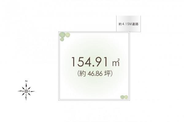 土地 東村山市本町3丁目 西武新宿線東村山駅 2980万円