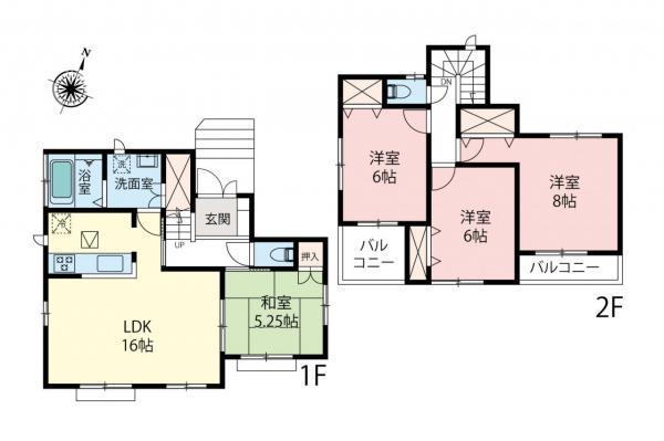 新築戸建 富士見市山室1丁目 東武東上線鶴瀬駅 3190万円