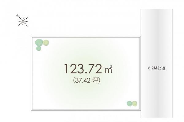土地 坂戸市千代田2丁目 東武東上線若葉駅 1550万円