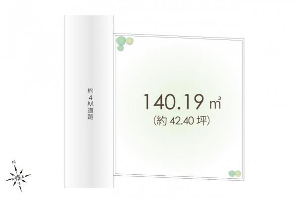 土地 新座市野火止5丁目 JR武蔵野線新座駅 2980万円