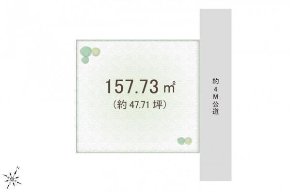 土地 狭山市大字南入曽 西武新宿線入曽駅 2480万円