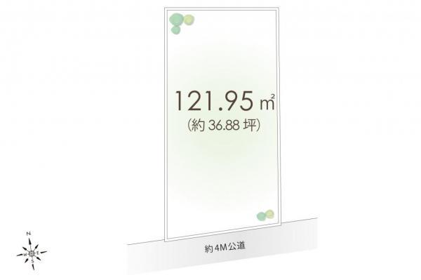 土地 狭山市大字南入曽 西武新宿線入曽駅 1730万円