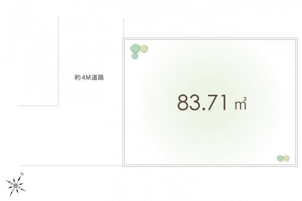 土地 所沢市和ケ原1丁目 西武池袋線狭山ヶ丘駅 1100万円