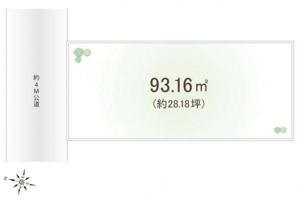 土地 富士見市水谷東1丁目 東武東上線柳瀬川駅 1400万円