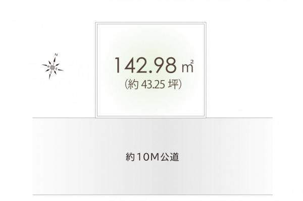 土地 坂戸市浅羽野2丁目 東武東上線坂戸駅 1100万円