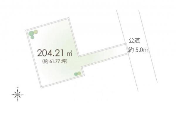 土地 国分寺市高木町2丁目 JR中央線国立駅 2980万円