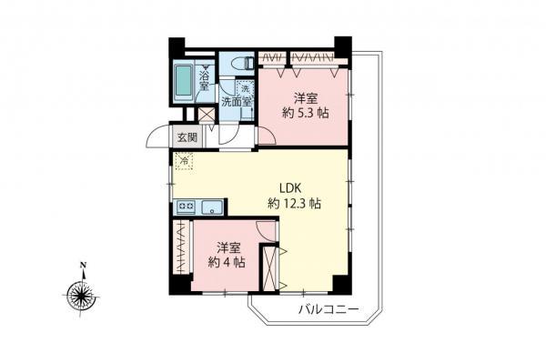 中古マンション 練馬区関町南4丁目 西武新宿線武蔵関駅 2480万円