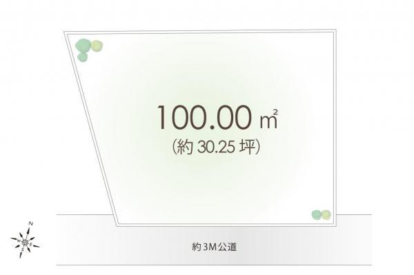 土地 狭山市大字南入曽 西武新宿線入曽駅 1280万円
