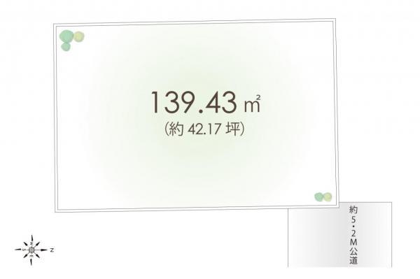 土地 入間市大字新光 西武池袋線仏子駅 1380万円