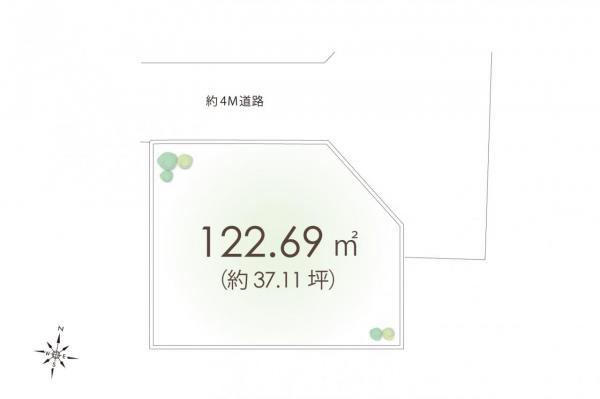 土地 国分寺市西町4丁目 JR中央線国立駅 2480万円