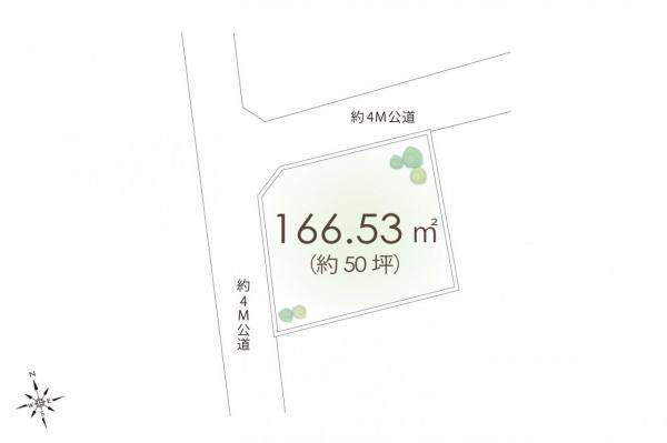 土地 飯能市大字岩沢 西武池袋線元加治駅 1260万円