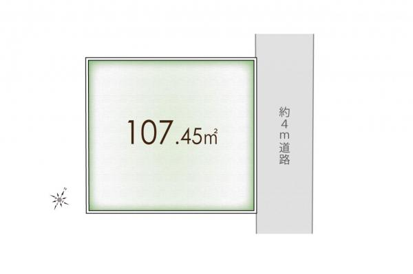 土地 狭山市狭山台3丁目 西武新宿線狭山市駅 1080万円