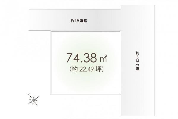 土地 朝霞市溝沼4丁目 東武東上線朝霞駅 1800万円