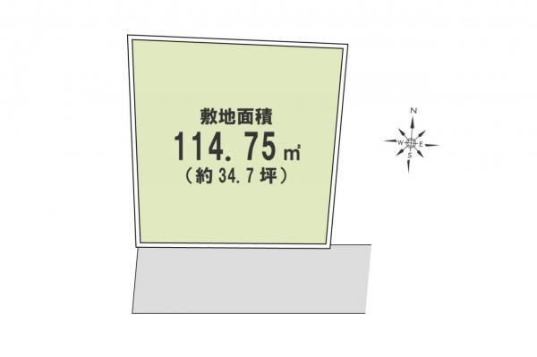 土地 所沢市大字北岩岡 西武新宿線新所沢駅 1980万円