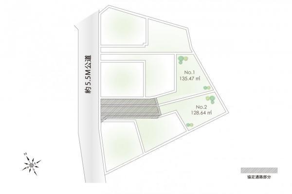 土地 東久留米市南沢1丁目 西武池袋線東久留米駅 2350万円~2450万円