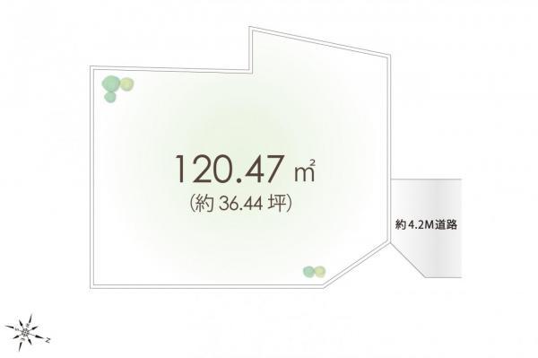 土地 日高市大字高萩 JR川越線笠幡駅 700万円