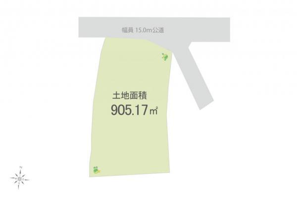 土地 飯能市大字平松 JR八高線(八王子〜高麗川)東飯能駅 2180万円