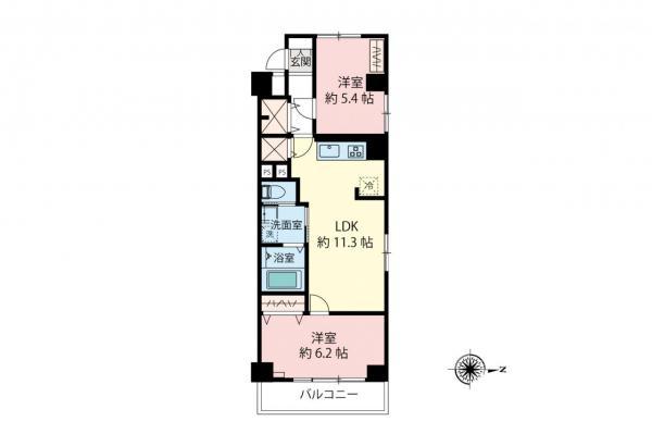 中古マンション 小金井市本町4丁目 JR中央線武蔵小金井駅 1978万円