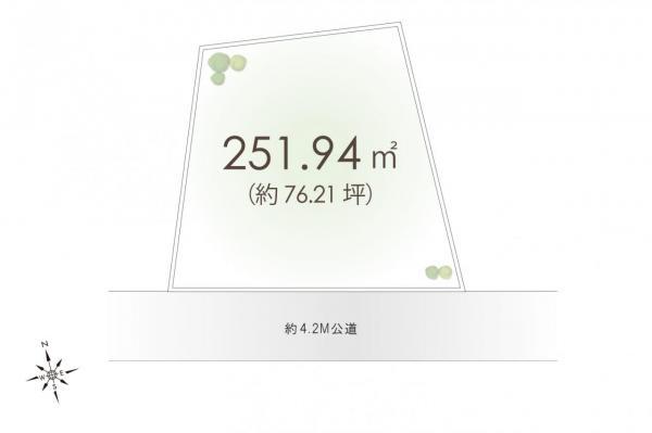 土地 富士見市大字東大久保 東武東上線上福岡駅 1880万円