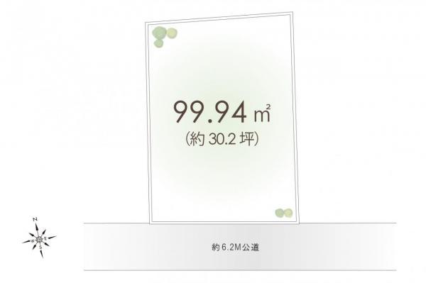 土地 川越市上戸新町 東武東上線霞ケ関駅 1380万円