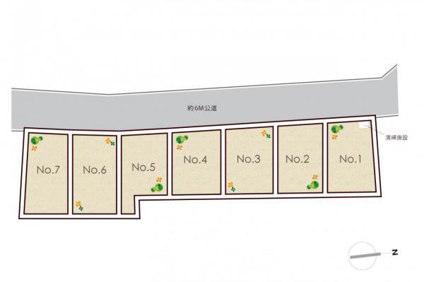 土地 練馬区下石神井5丁目 西武新宿線上井草駅 4620万円~4990万円