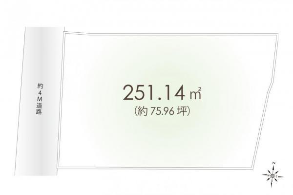 土地 練馬区石神井台2丁目 西武池袋線石神井公園駅 1億800万円
