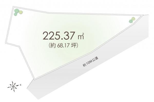 土地 飯能市仲町 西武池袋線飯能駅 3280万円